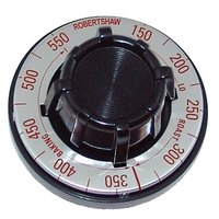 Garland / US Range 1314003/1314117  Equivalent 2 1/2 inch Oven Thermostat Dial (Off, 150-550)