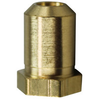 All Points 26-1100 Brass Hood Orifice; #40; 3/8 inch-27 Thread; 1/2 inch
