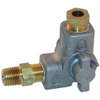 All Points 52-1142 Pilot Shut Off Valve; 1/4 inch NPT Gas In / Out