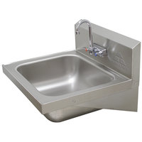 Advance Tabco 7-PS-45 Hand Sink - 24 3/4 inch x 21 7/8 inch