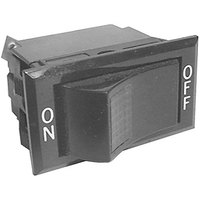 All Points 42-1604 On/Off Lighted Rocker Switch - 15A-277/125V