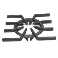 All Points 24-1110 6 1/4 inch Cast Iron Spider Grate
