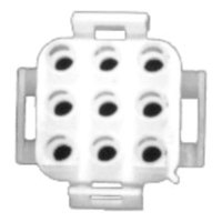 All Points 26-3603 Male Connector - 9 Pin