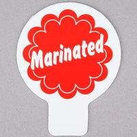 Deli Tag Topper - MARINATED - Red