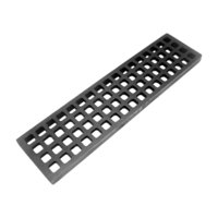 All Points 24-1087 20 15/16 inch x 5 3/16 inch Cast Iron Bottom Broiler Grate