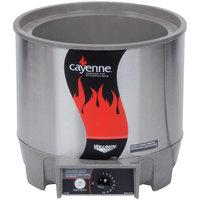 Vollrath 72017 7 Qt. Round Heat n' Serve Soup Warmer - 120V, 800W