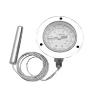 All Points 62-1054 Thermometer; 20 - 220 Degrees Fahrenheit; 1/8 inch MPT Bottom Mount