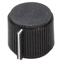 All Points 22-1542 29/32 inch Black Refrigerator / Freezer Temperature Control Knob