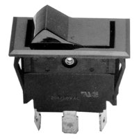 All Points 42-1028 On/Off Rocker Switch - 208A/125-277V