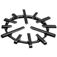 All Points 24-1015 8 7/8 inch Cast Iron Spider Ring Grate