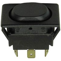 All Points 42-1338 On/Off/On Rocker Switch - 15A, 125/277V
