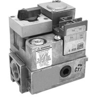 All Points 54-1063 Type V800C Gas Safety Valve; Natural Gas; 3/4 inch Gas In / Out; 1/4 inch Pilot Out; Thermocouple Operator