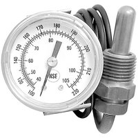 All Points 62-1074 Thermometer; 100 -220 Degrees Fahrenheit; U-Clamp Mount