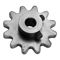 All Points 26-1712 Sprocket Assembly - 12 Teeth, 1/4 inch bore, 1 5/16 inch Diameter