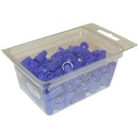All Points 28-1633 Blue Wire Connectors - 100/Pack