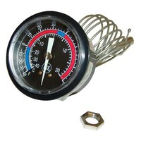 All Points 62-1132 Thermometer; -40 - +65 Degrees Fahrenheit; U-Clamp Mount