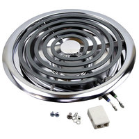 All Points 34-1169 Coil Surface Heater; 240V, 2500W, 10 inch Diameter