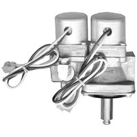 All Points 54-1081 Dual Natural Gas Solenoid Valve; 1/2 inch FPT; 25V
