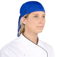 Headsweats Royal Blue Eventure Fabric Adjustable Chef Bandana / Do Rag