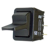 All Points 42-1495 On/Off Rocker Toggle Switch - 16A, 125/250V