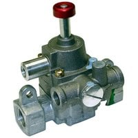 All Points 54-1115 Type J TS Safety Magnet Head and Gas Carrier; 3/8 inch Gas In/Out, 1/4 inch Pilot In/Out