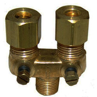 All Points 52-1095 Dual Pilot Adjustment Valve; 1/8 MPT x 1/4 inch CCT