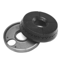 All Points 24-1109 5 5/8 inch Cast Iron Burner Base and Cap