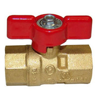 All Points 52-1048 Gas Ball / Shut-Off Valve; 1/2 inch Gas In / Out
