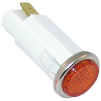 All Points 38-1081 Signal Light; 1/2 inch; Amber; 125V