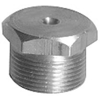 All Points 26-4010 Brass Burner Orifice; 0.2188 inch Hole; Natural Gas; 5/8 inch-28 Thread