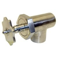 All Points 56-1151 3 inch Stainless Steel Steam Kettle Draw-Off Valve