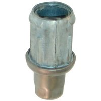 All Points 26-2443 Stainless Steel 1 1/2 inch Adjustable Bullet Foot for 1 5/8 inch O.D. Tubing