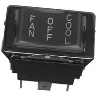 All Points 42-1321 On/Off/On Rocker Switch - 20A/125/277V