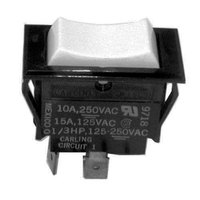 All Points 42-1208 Momentary On/Off/On Rocker Switch - 15A/125V, 10A/250V