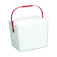 Small Foam Cooler with Handle - 11 3/4 inch x 8 3/4 inch