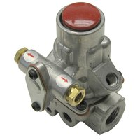 All Points 54-1111 Gas Safety Valve; Natural Gas / Liquid Propane; 3/8 inch Gas In / Out; 1/4 inch Pilot In / Out