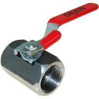 All Points 56-1335 Fryer Drain Valve with Lock - 1 1/4 inch FPT