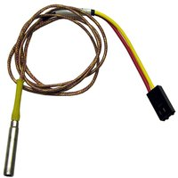 All Points 44-1331 Thermocouple; Type K; 3/16 inch x 1 inch Probe; 25 inch Wire