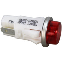All Points 38-1009 Signal Light; 1/2 inch; Red; 125V