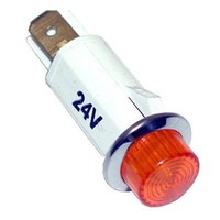 All Points 38-1215 Signal Light; 1/2 inch; Red; 24V