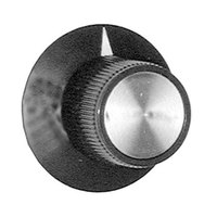 All Points 22-1178 1 1/8 inch Warmer Knob with Pointer