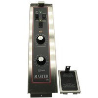All Points 46-1393 Master 200 Series Control Panel Assembly with Fuse Panel Cover - 6 inch x 22 3/8 inch