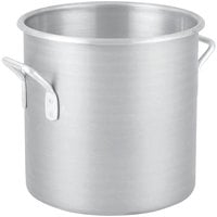 Vollrath 4320 Wear-Ever 80 Qt. Classic Aluminum Rolled Edge Stock Pot