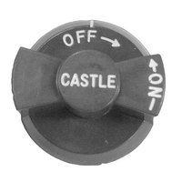 All Points 22-1293 2 1/2 inch Gas Valve Knob (Off, On)