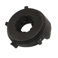 All Points 24-1105 4 1/4 inch Cast Iron Burner Head (Pilot On-Center)
