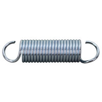 Garland / US Range 224004 Equivalent Chrome Door Spring; 5 7/16 inch x 1 11/32 inch