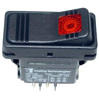 All Points 42-1345 On/Off Lighted Rocker Switch - 15A/125V, 10A/250V
