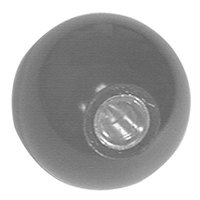 Henny Penny 16101 Equivalent 1 5/8 inch Black Fryer Ball Knob