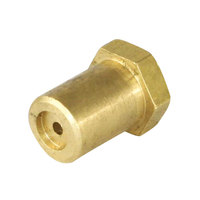 All Points 26-1106 Brass Hood Orifice; #46; 3/8 inch-27 Thread; 1/2 inch