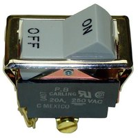 Wells 54228 Equivalent On/Off Rocker Switch - 20A/250V